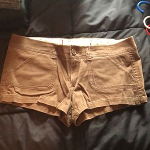 Hollister Dark Brown Shorts